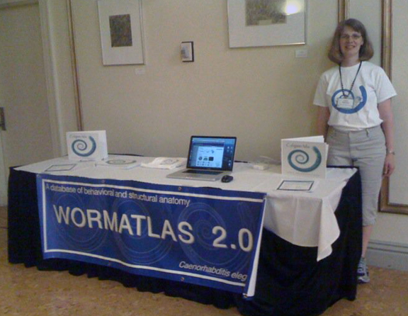 WormAtlas Booth 2010