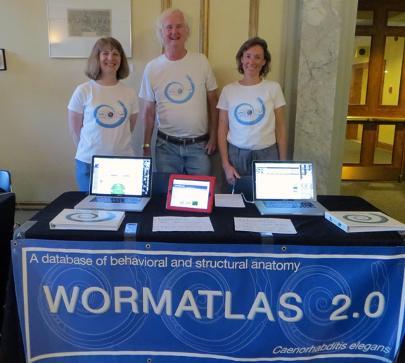 WormAtlas booth 2012