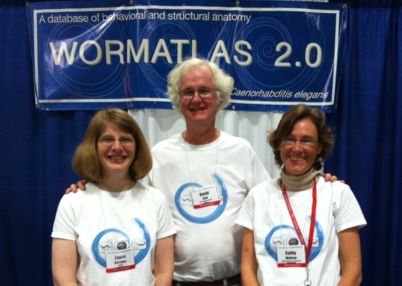 WormAtlas Booth 2011